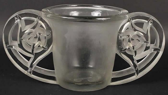 Rene Lalique Vase Pierrefonds