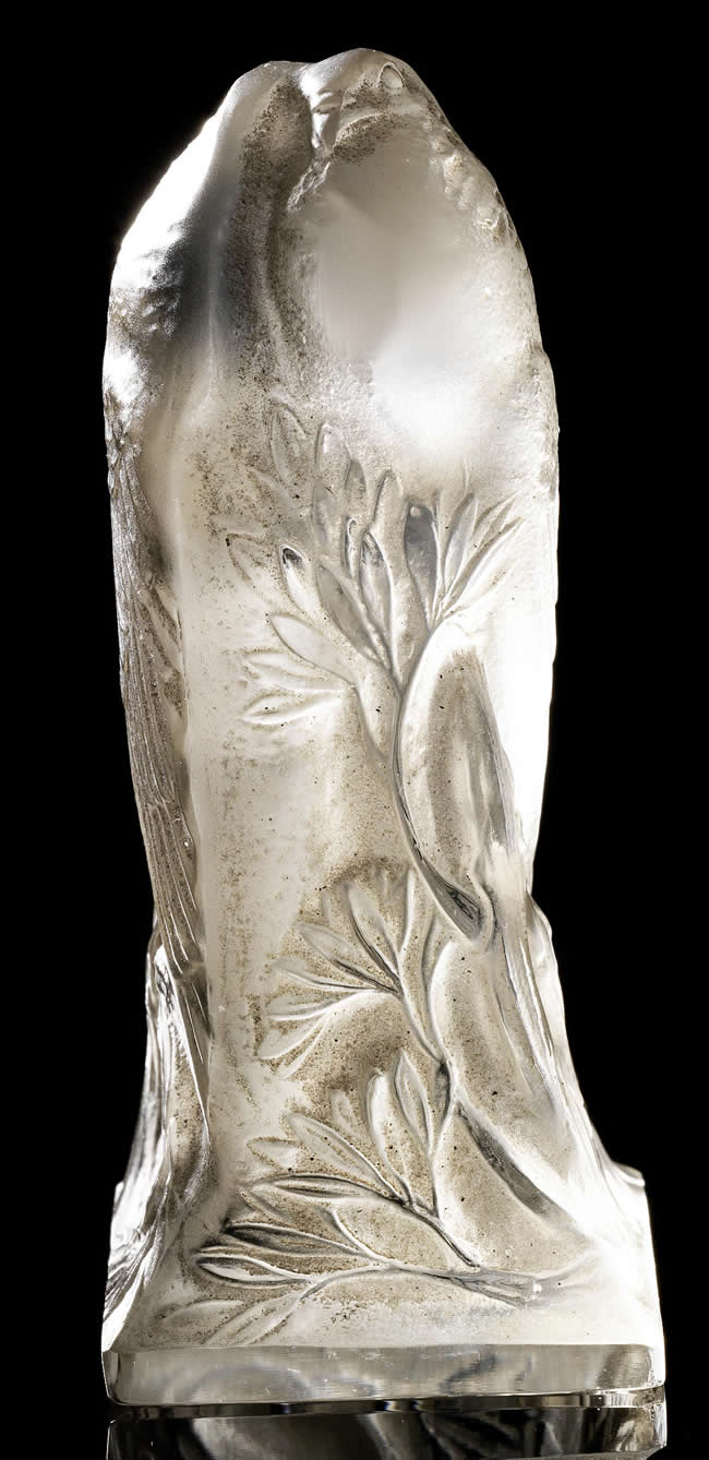 Rene Lalique Pigeons Seal