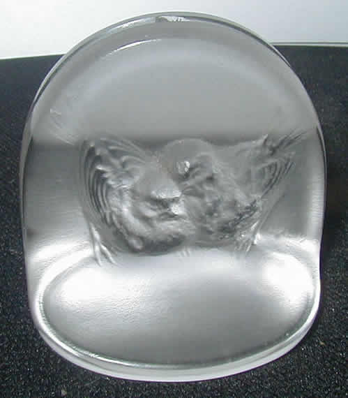 R. Lalique Pinsons Place Card Holder