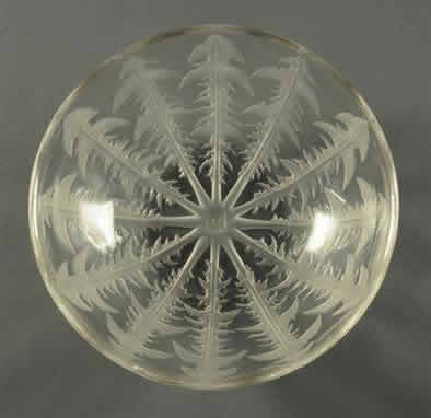 Rene Lalique Pissenlit Fruit Bowl