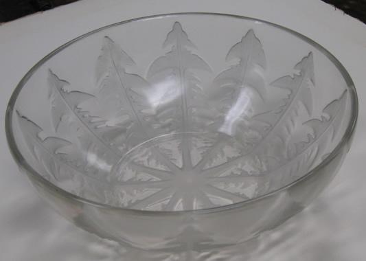 Rene Lalique Bowl Pissenlit