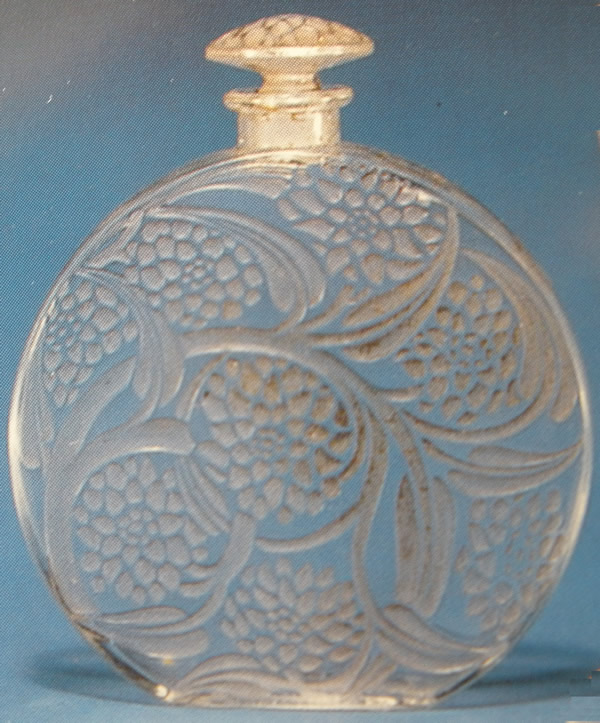 Rene Lalique Pivoines Perfume Bottle
