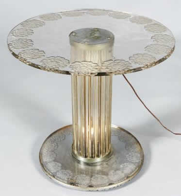 Awesome Rene Lalique Table Pivoines