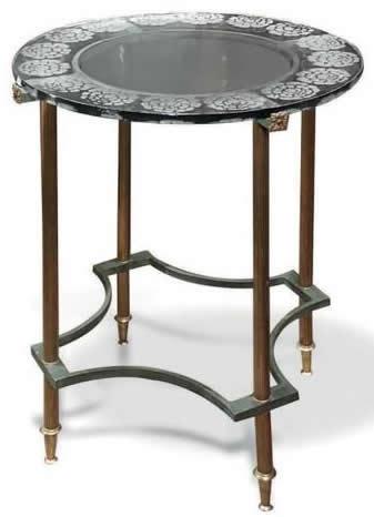 Rene Lalique Table Pivoines 2