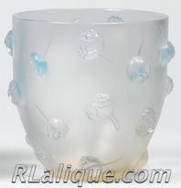 Rene Lalique Vase Pivoines