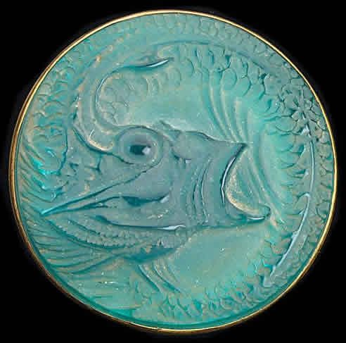 Rene Lalique Poisson Brooch