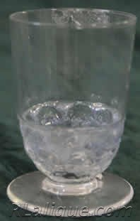 Rene Lalique Pouilly Glass