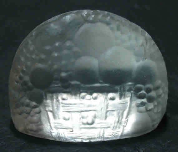 R. Lalique Pommes Menu Card Holder
