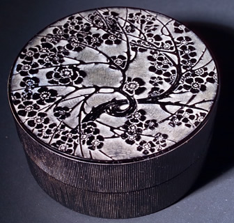 Rene Lalique Pommier Du Japon Box