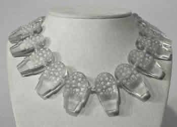 Rene Lalique Pots De Muguet Necklace