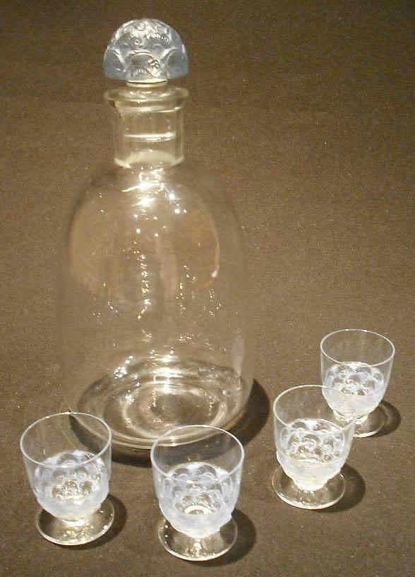 Rene Lalique Pouilly-2 Decanter