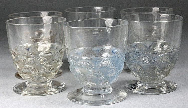 Rene Lalique Pouilly Tot Glass