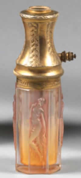 Rene Lalique Quatre Figurines Atomizer