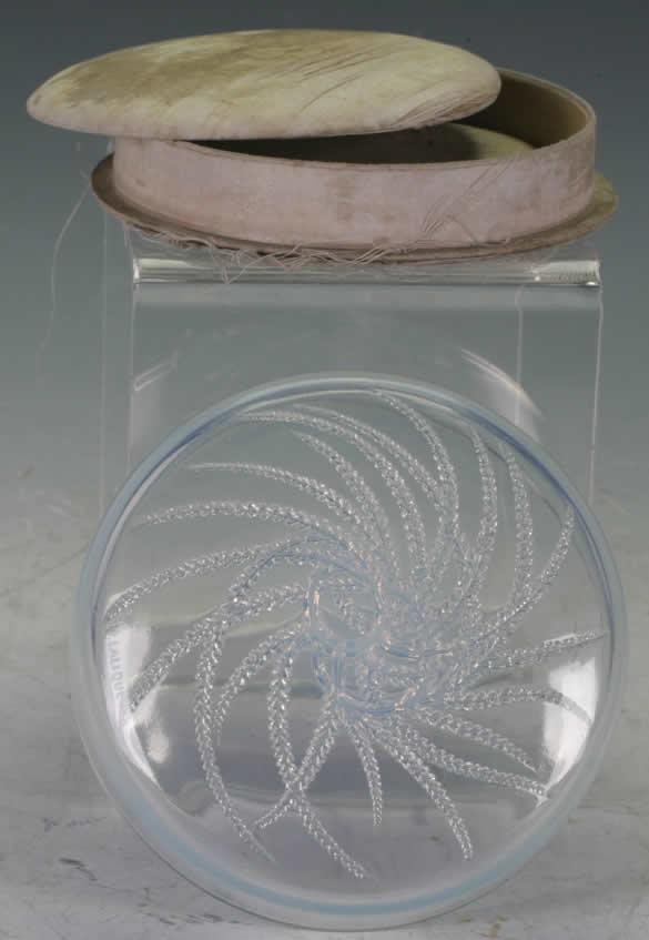 Rene Lalique Box Quatre Flacons