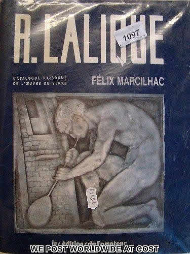 Rene Lalique  R.Lalique Catalogue Raisonne Book