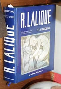 Rene Lalique  R. Lalique Catalogue Raisonne 1994 Book