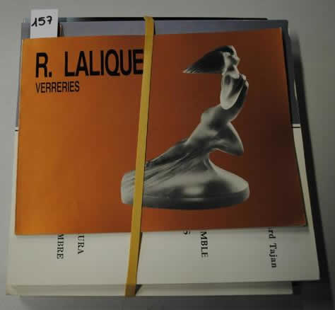 Rene Lalique R. Lalique Verreries Catalogue