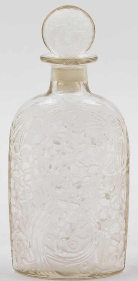 Rene Lalique Raisins Decanter
