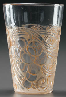 Rene Lalique Raisins Glass