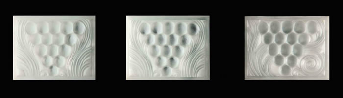 R. Lalique Raisins Panel
