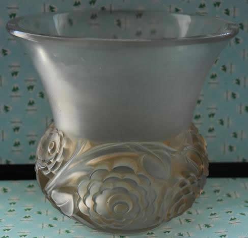 Rene Lalique Vase Renoncules