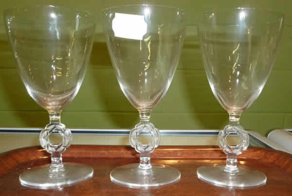 Rene Lalique Ribeauville Glass
