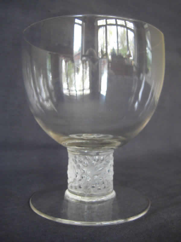 Rene Lalique  Ricquewihr Water Glass