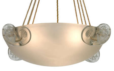 Rene Lalique Ronces Chandelier