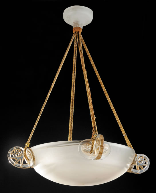 R. Lalique Ronces Chandelier