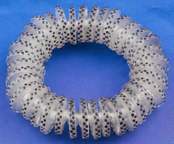 Rene Lalique Rondelles Plates Bracelet