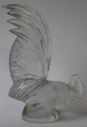 Rene Lalique  Rooster Car Mascot