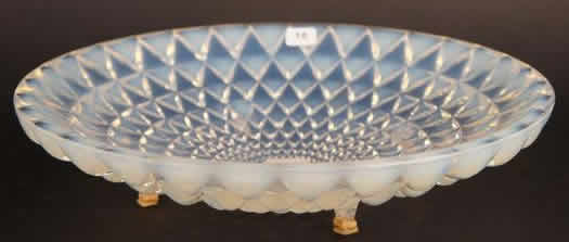 Rene Lalique Rosace Footed Bowl