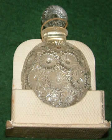 Rene Lalique Rose Perfume Bottle