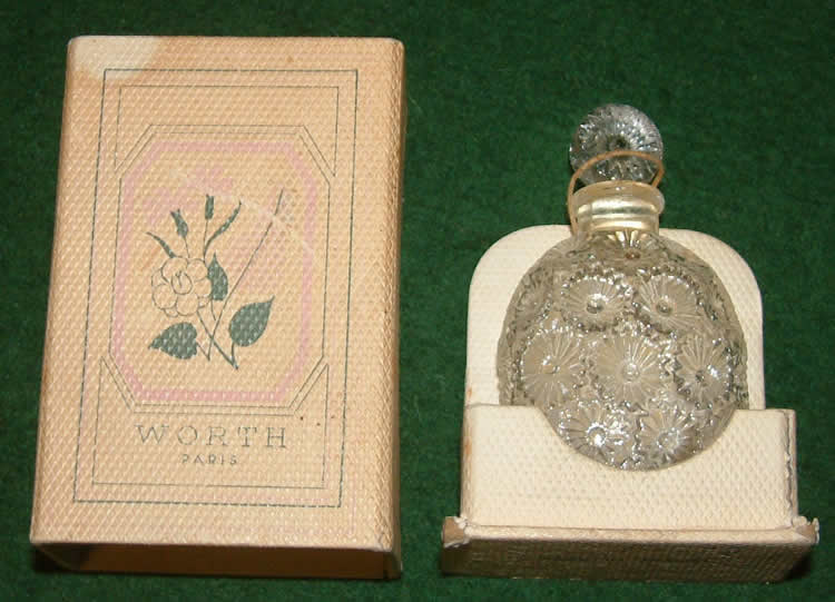 R. Lalique Rose Perfume Bottle