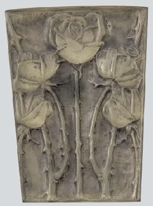 Rene Lalique Roses Panel