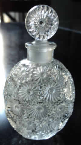 Rene Lalique Perfume Bottle Roses