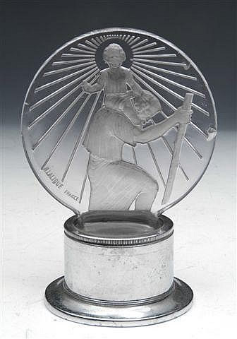 Rene Lalique Saint-Christophe Car Mascot