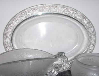 R. Lalique Saint Gall Serving Tray