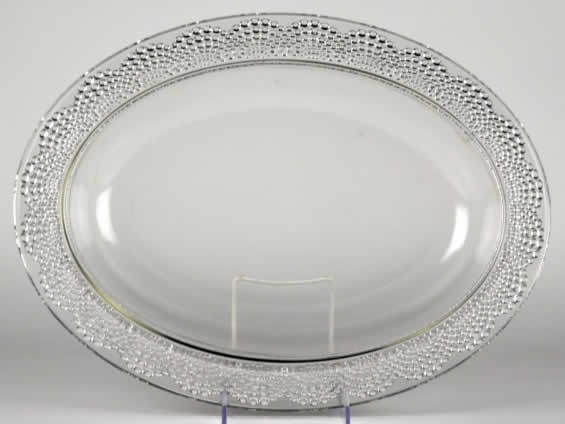 R. Lalique Saint-Gall Tray