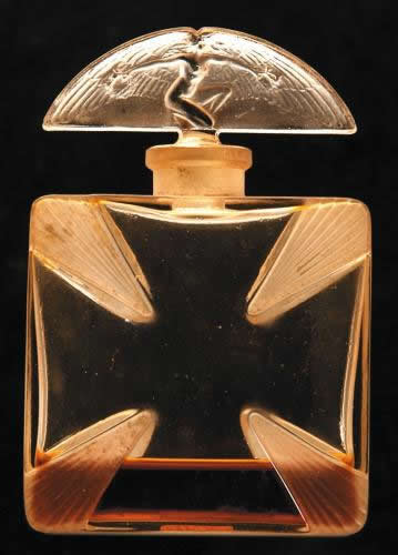 Rene Lalique Saint Georges Perfume Bottle