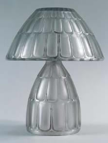 Rene Lalique Saint-Nabor Lamp