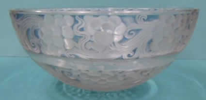 Rene Lalique Saint Vincent Bowl