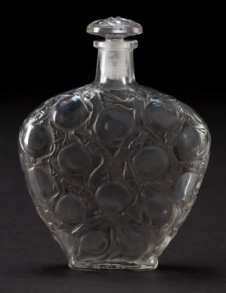 Rene Lalique Salamandres Perfume Bottle