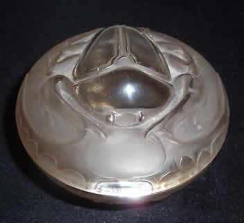 Rene Lalique Scarabee Box