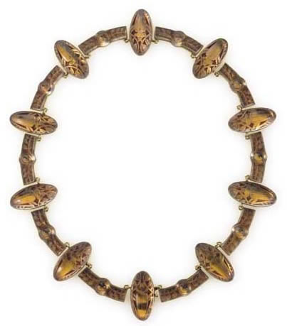 Rene Lalique Scarabees Necklace