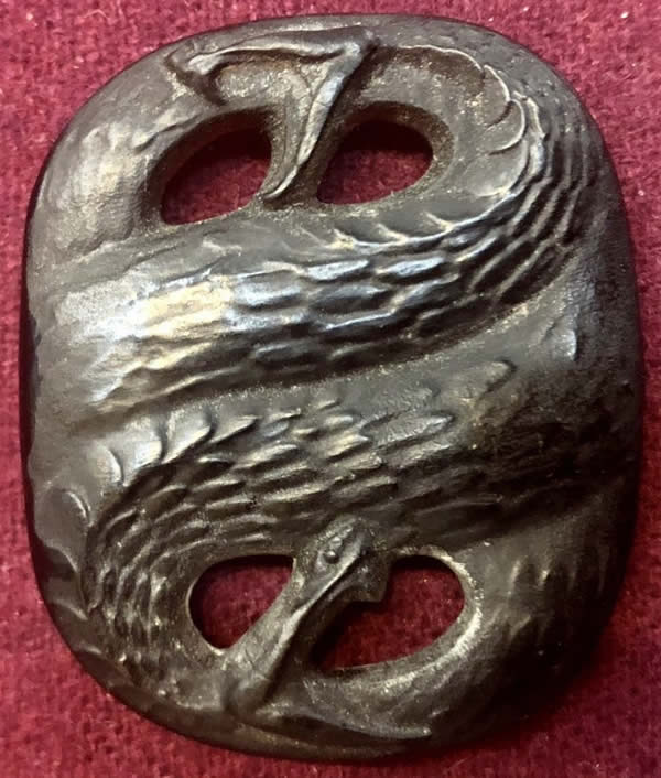 R. Lalique Serpents Pendant