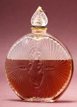 Rene Lalique Sergy Perfume Bottle