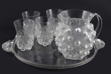 Rene Lalique Tray Setubal