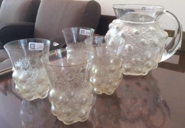 Rene Lalique  Setubal Tableware