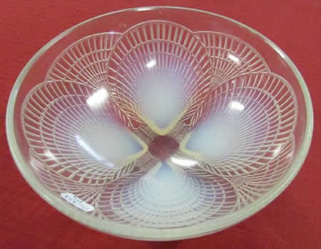R. Lalique Shells Bowl